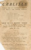 Page from publicity leaflet, Carlisle 1928