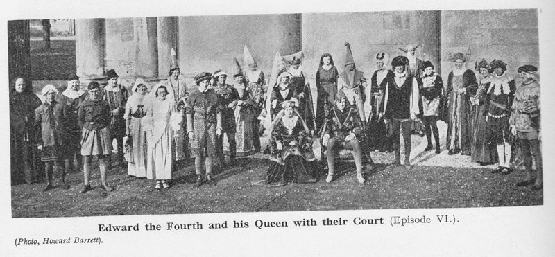 Edward IV in the Nottingham Pageant 1935