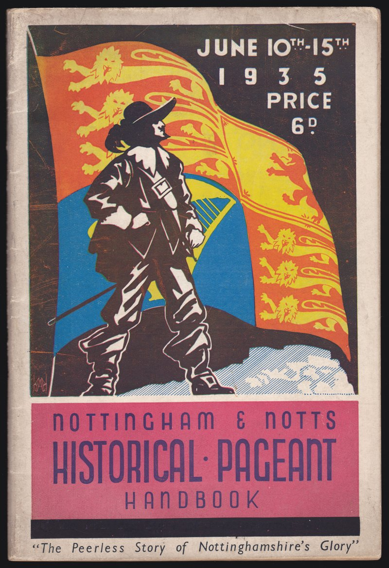 The Nottingham Pageant 1935 Book of Words
