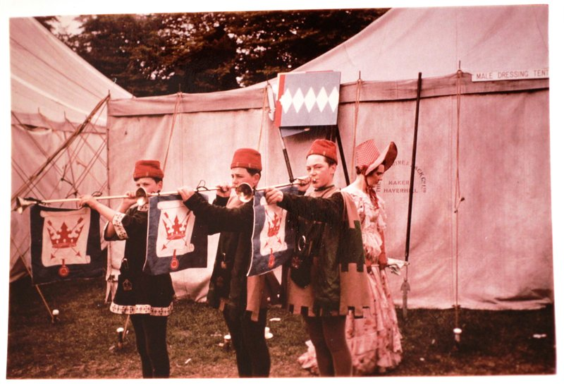 Bury St Edmunds Pageant 1959 Amateur Photograph