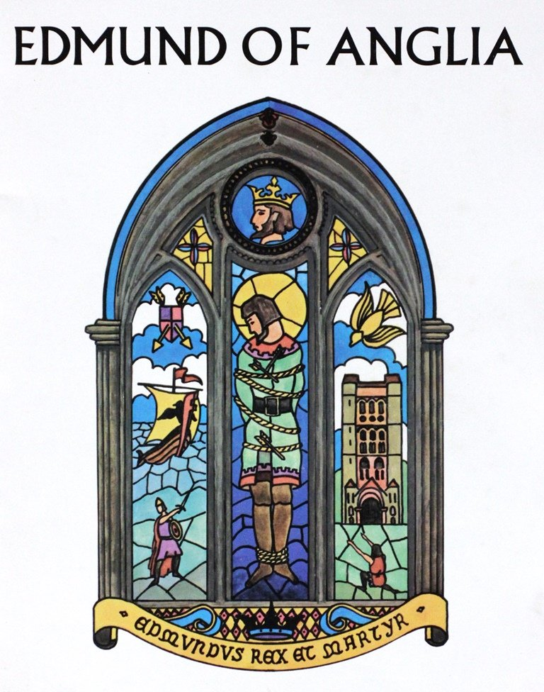 Cover of the 'Edmund of Anglia' programme